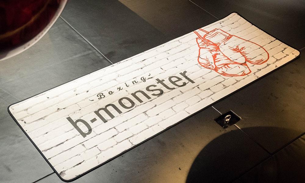 b-monsterオリジナル「ヨガマット」