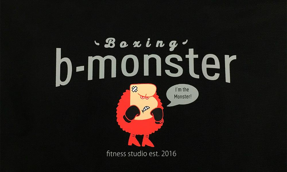 b-monsterオリジナルジムバッグ