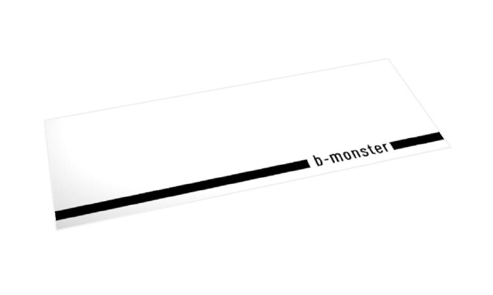 b-monster オリジナル「ホームマット」