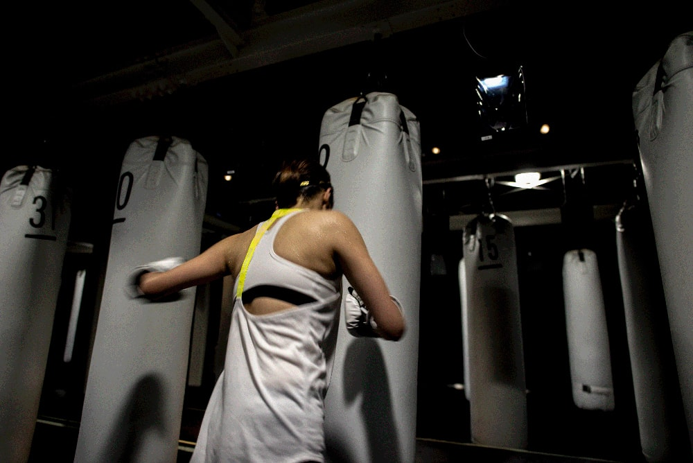 倉田 沙友里さま。ボクシング