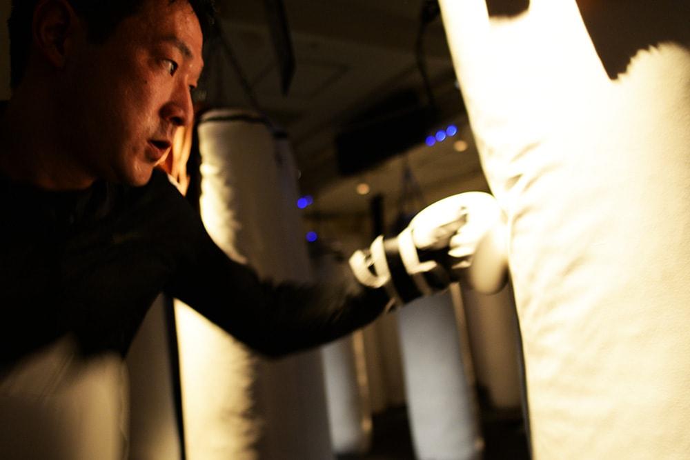 b-monsterお客様インタビュー戸川 慶亮さん。ボクシング写真