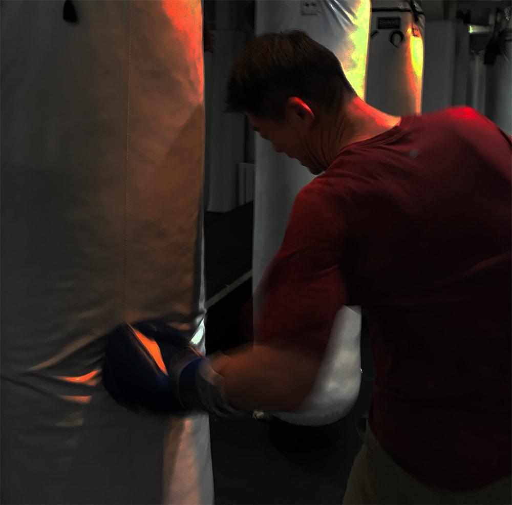 ボクシングはやればやる程打てるようになり、体の使い方が分かると楽しさが違ってきた