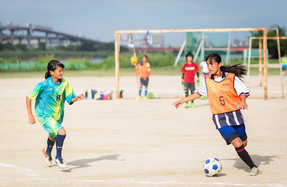 「FC HERMANA」の練習はとてもハードで長時間に及ぶ