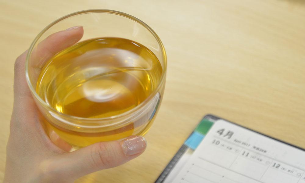 マテ茶は味はさっぱりして飲みやすい