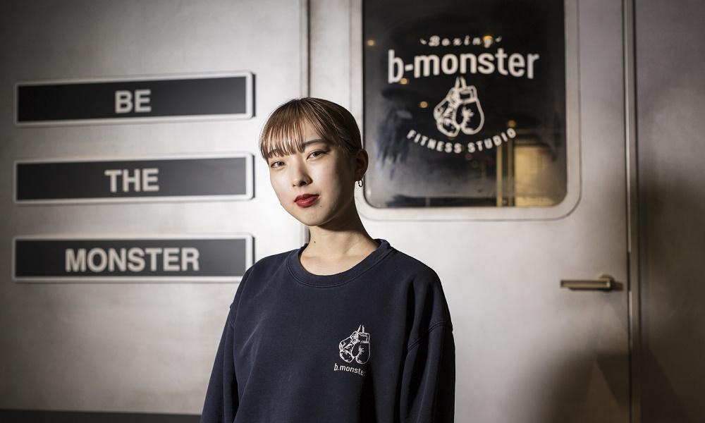 b-monsterパフォーマーの横顔