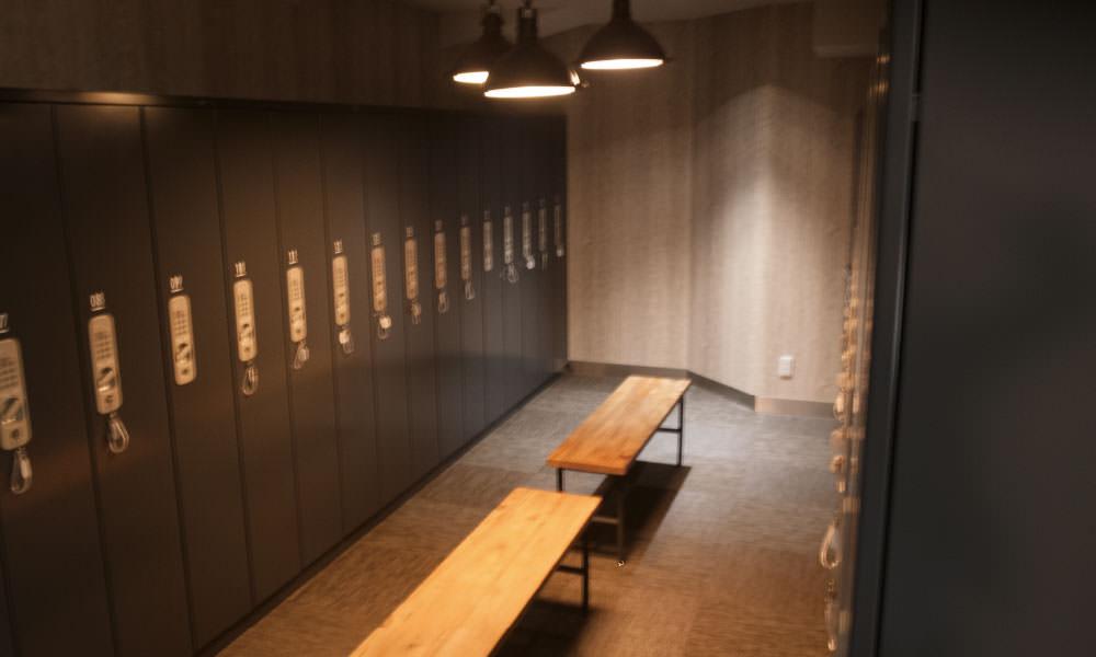 b-monster青山スタジオロッカールーム
