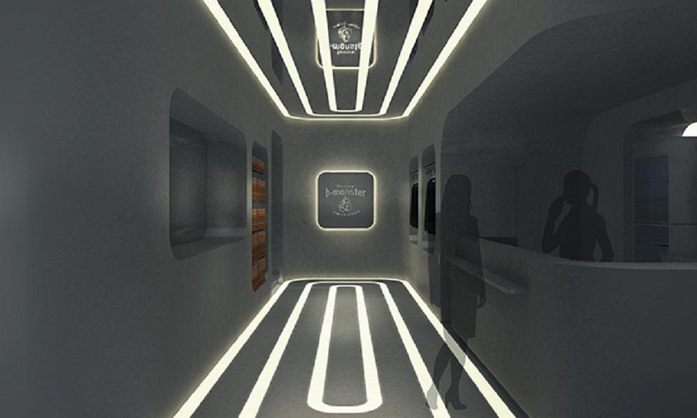 宇宙船内をモチーフに近未来をコンセプトとした大宮スタジオのご紹介