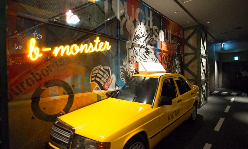 ブルックリンの街並みをモチーフにデザインされた栄スタジオのご紹介